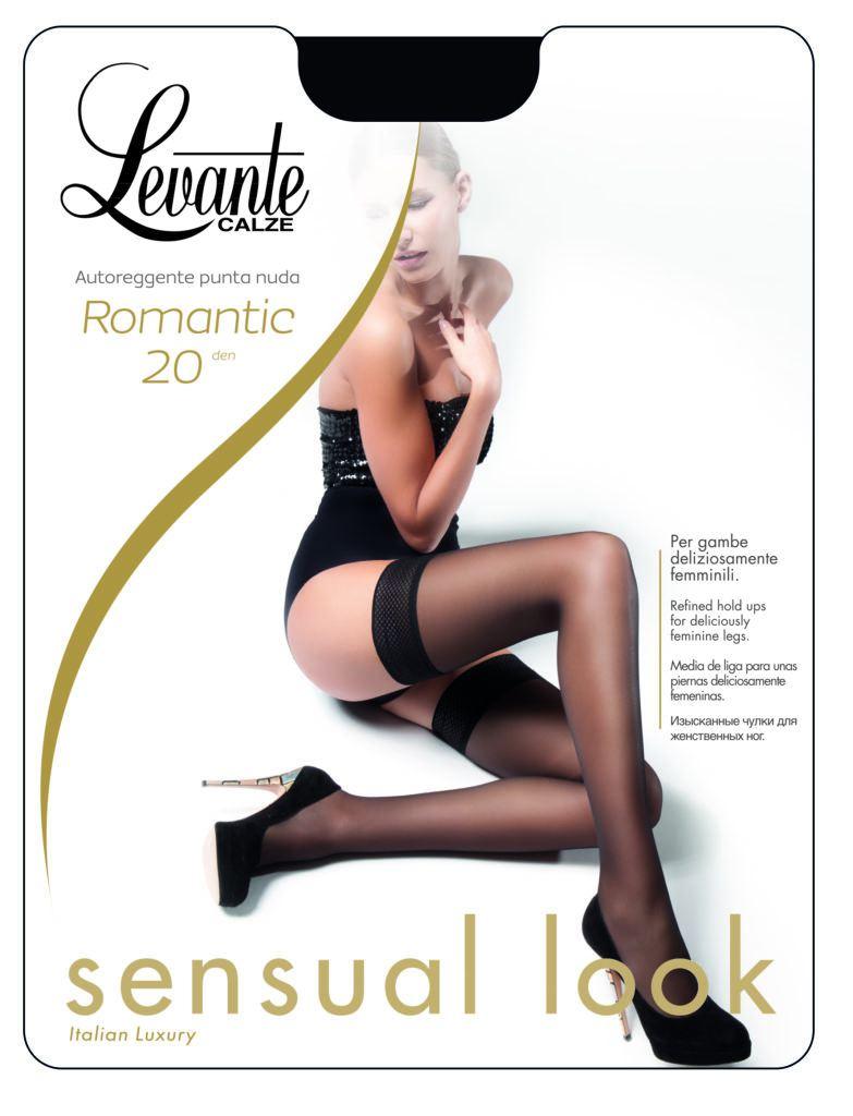 7ced91601b7f Чулки Levante ROMANTIC 20 от официального представителя.